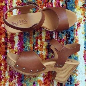 Korks by Kork-Ease Katrine Leather Sandals
